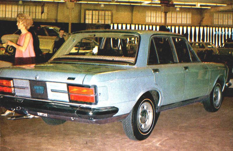 Introduction Fiat 130 1969 Geneva