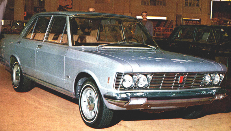 Introduction Fiat 130 1969 Geneva