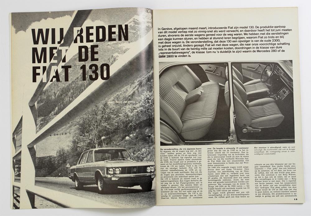 Autovisie Fiat 130