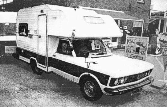 Fiat 130 Camper