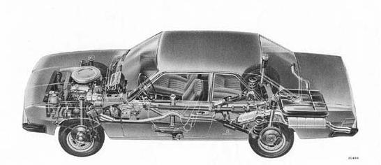 fiat 130 coupe, open foto
