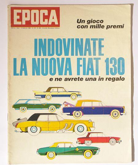 Artikel over de Fiat 130