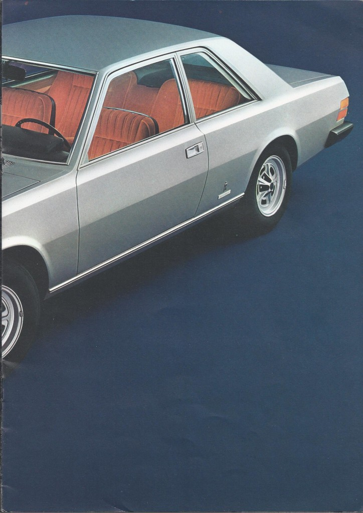 Brochure Fiat 130 Coupé 3200