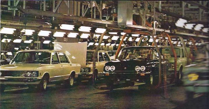 Fiat 130 production