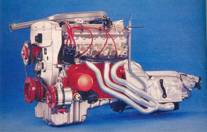 3265 cc motor, 165 PK