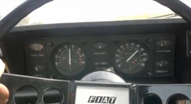 200 km/u in een Fiat 130