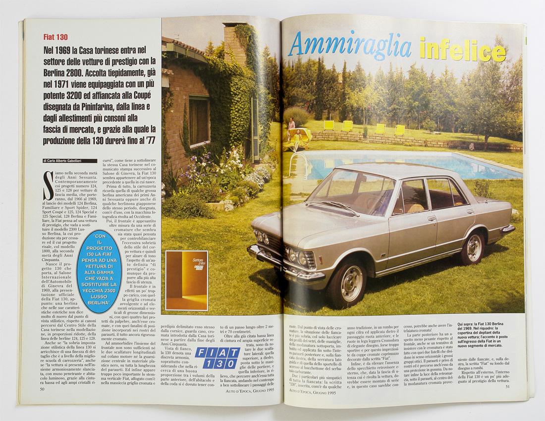 Auto d'Epoca met Fiat 130