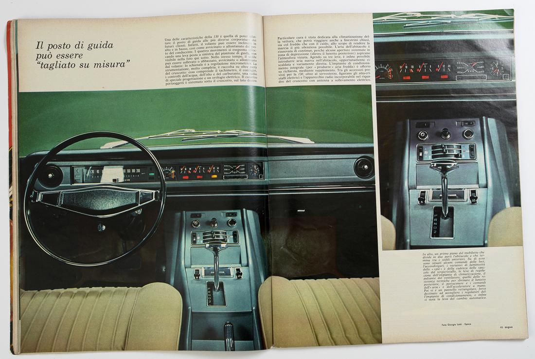 Fiat 130 Epoca 1969