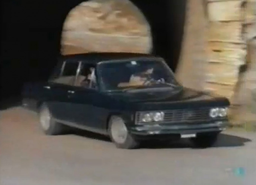 The Mechanic met Fiat 130 Berlina