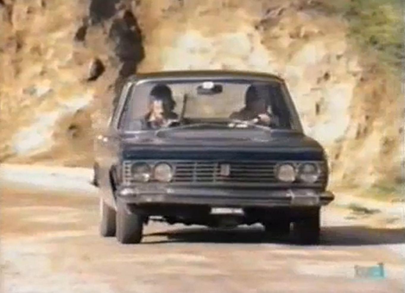 The Mechanic met Fiat 130 Berlina