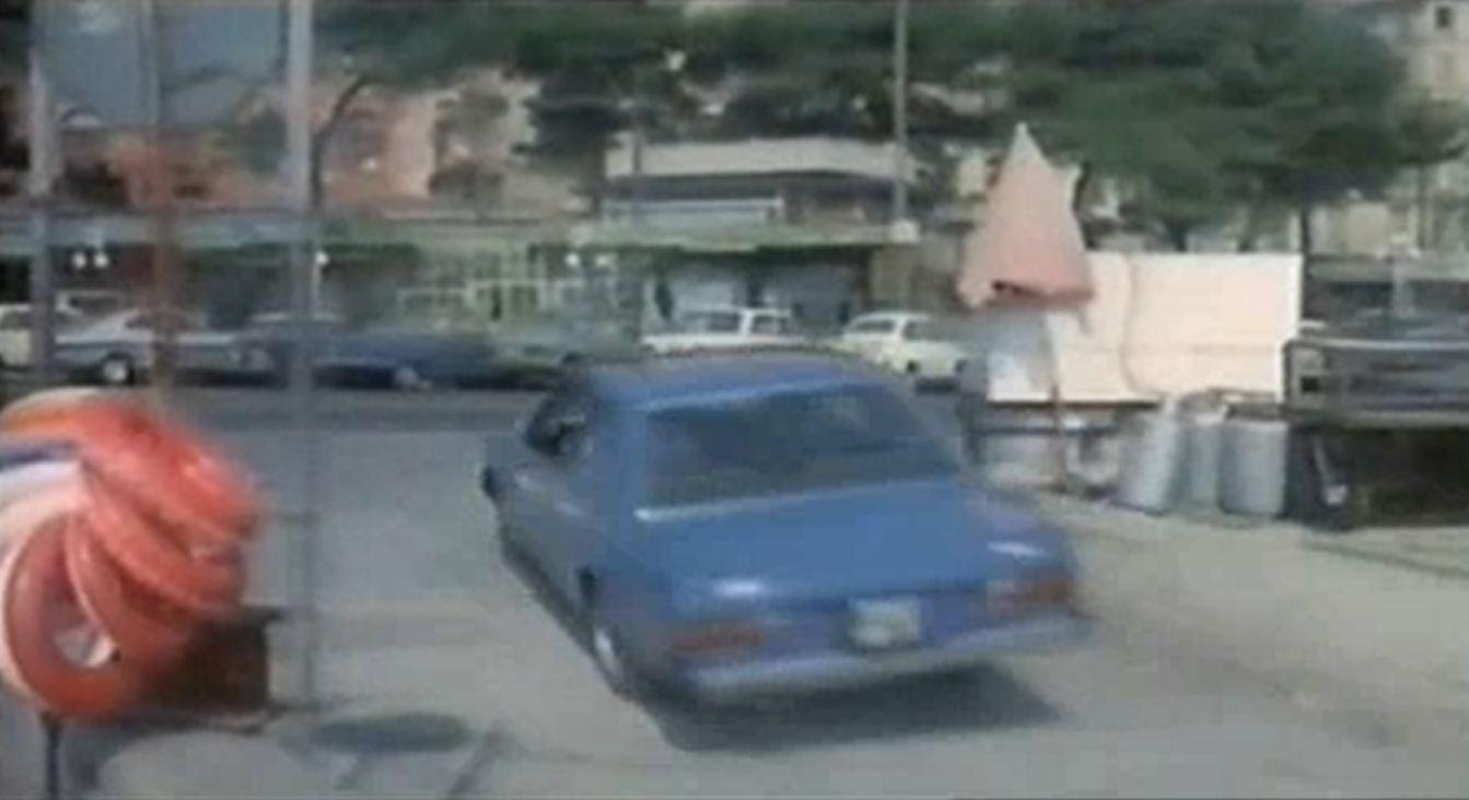 Bud Spencer in Fiat 130