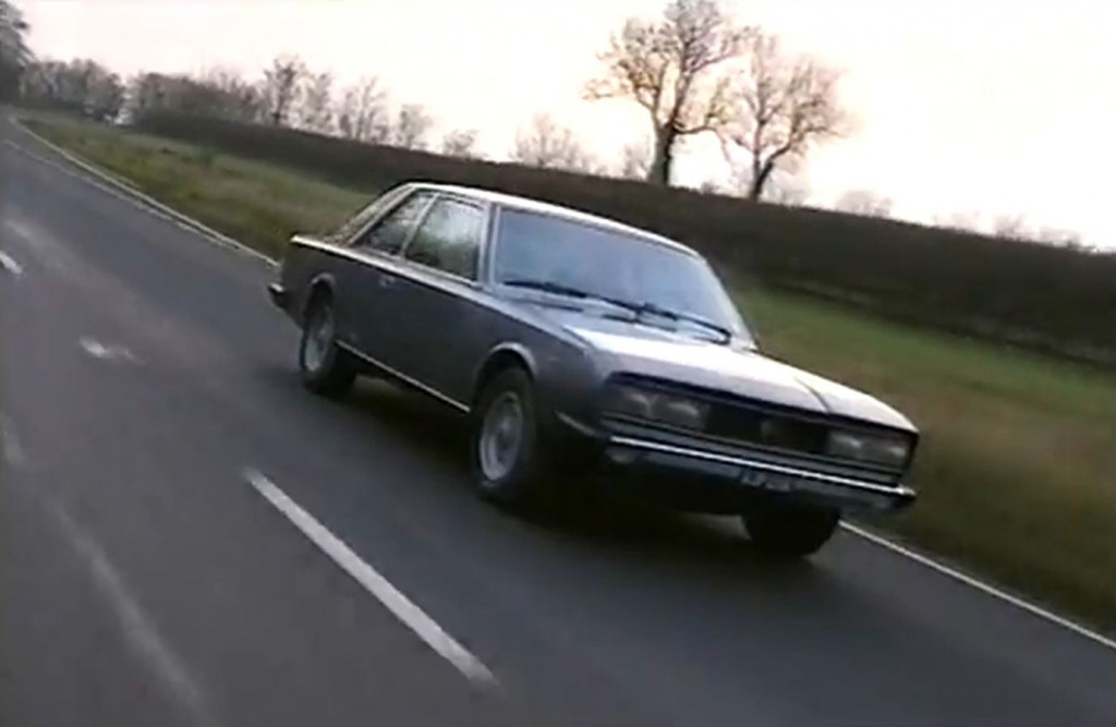 Old Top Gear - Fiat 130 Lancia Gamma Peugeot 504 - 70`s Classic Coupe Test