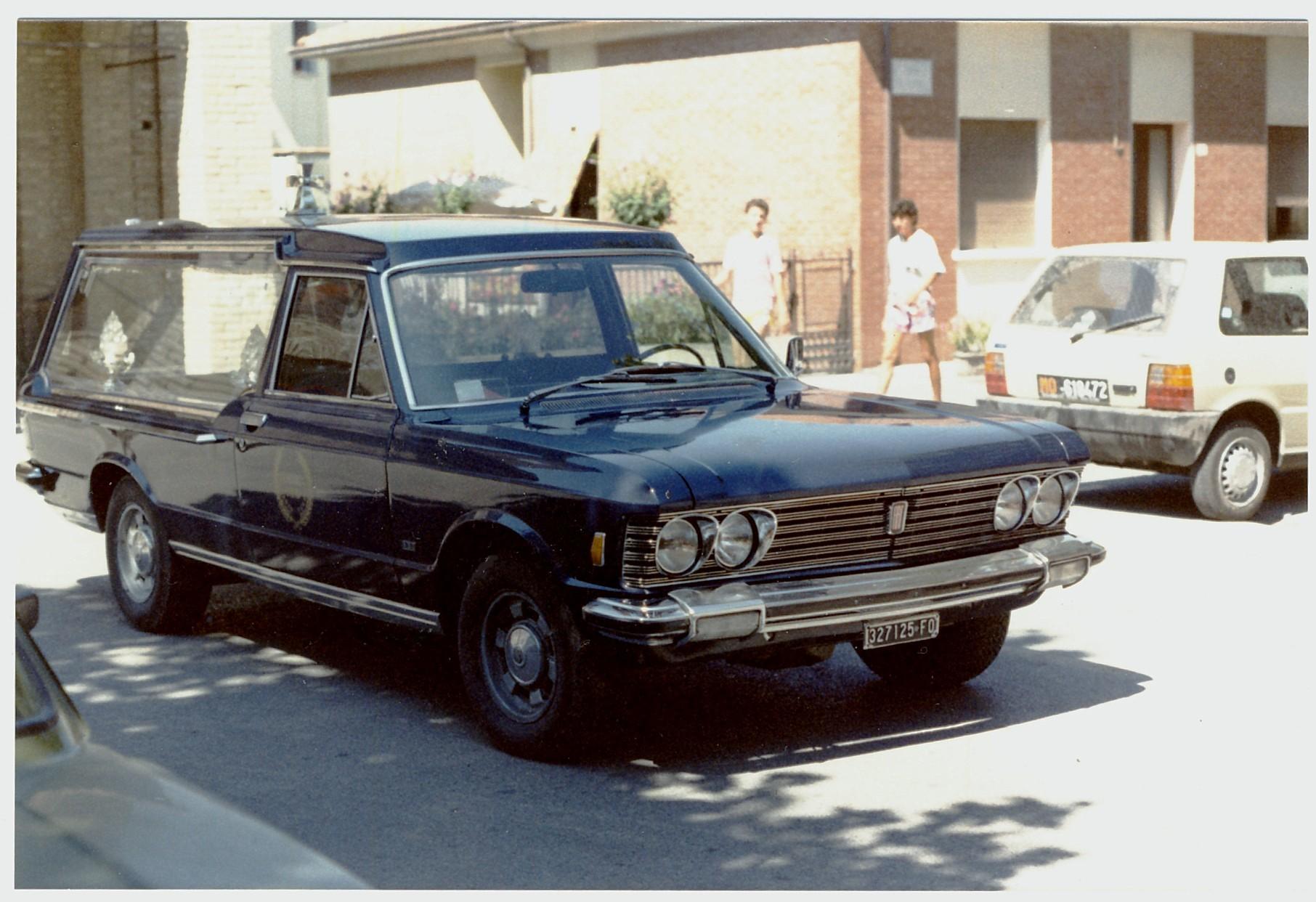 Fiat 130 Uitvaartwagen 1983
