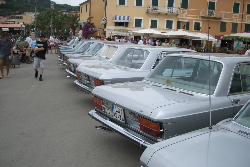 Fiat 130 meeting Elba 2005