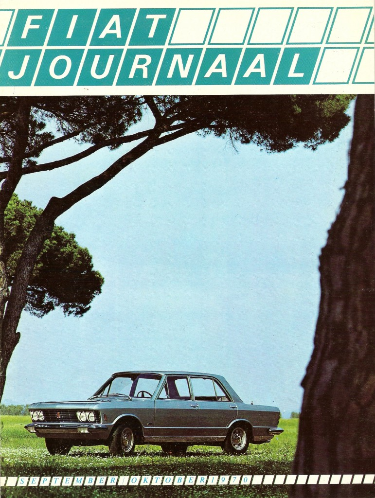 Fiat Journaal sept okt  1970