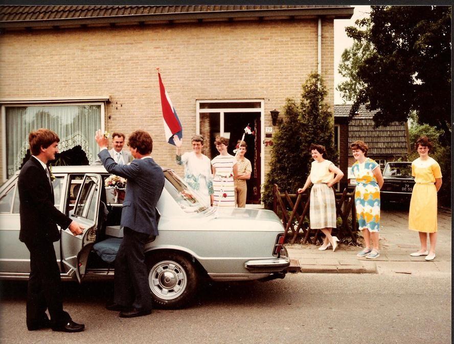 13-79-XL als trouwvervoer