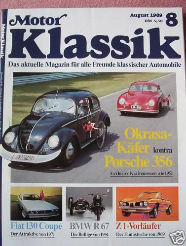 Motor Klassik 081989