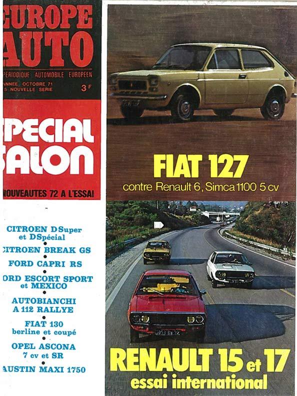 Europe Auto 1971