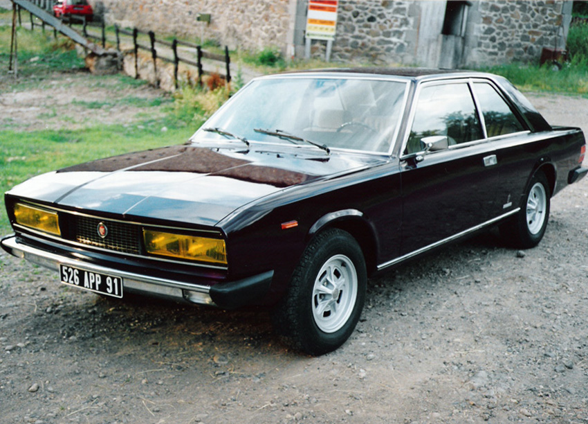 Fiat 130 de France