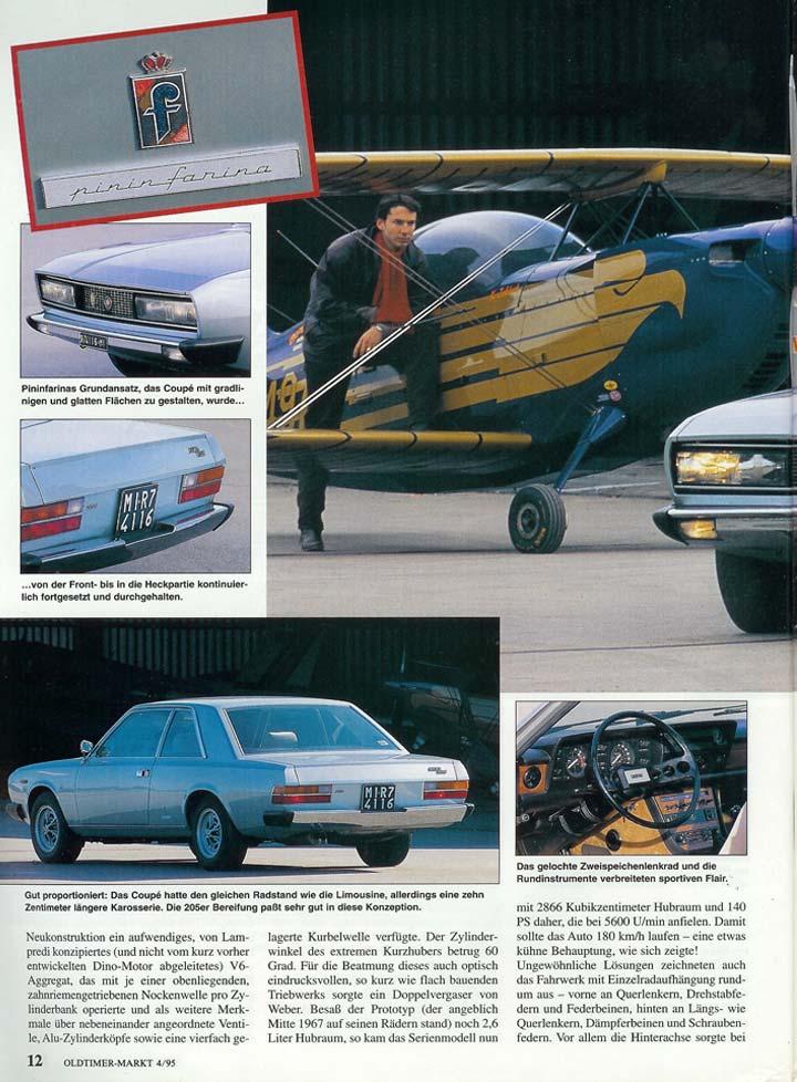 Oldtimer Markt 1995 Fiat 130