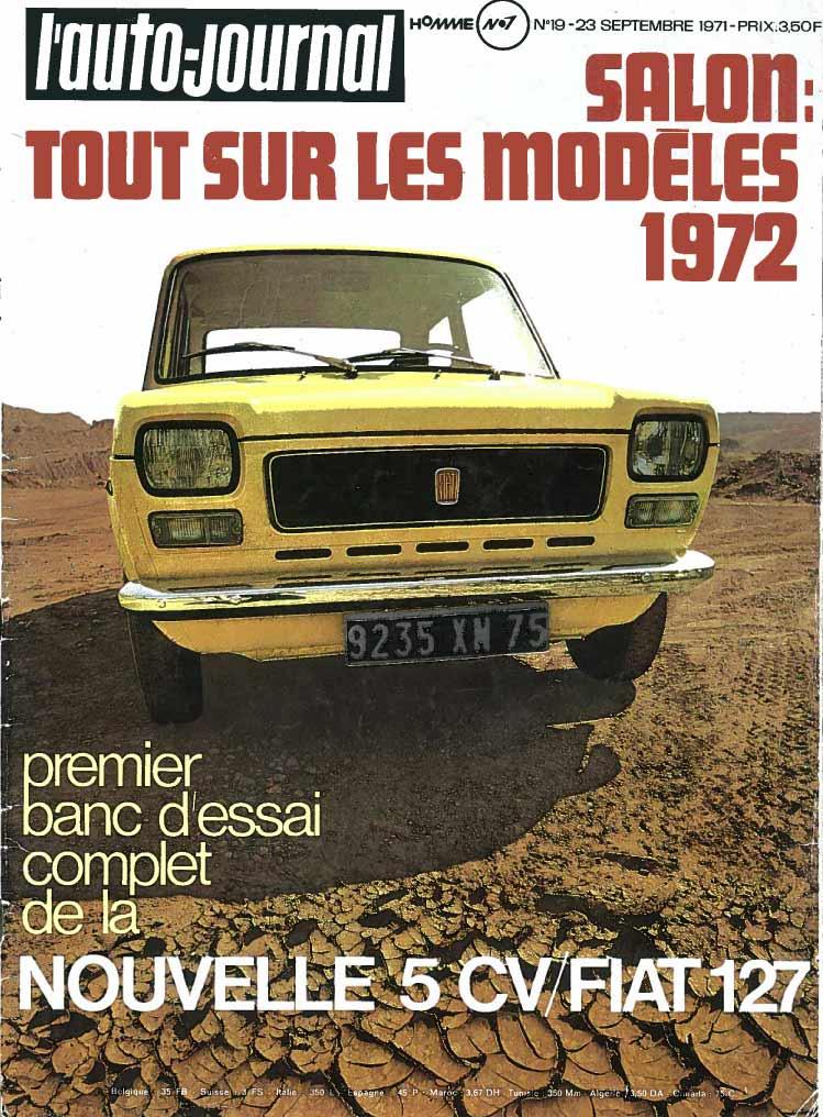 Auto-Journal 1971 Fiat 130