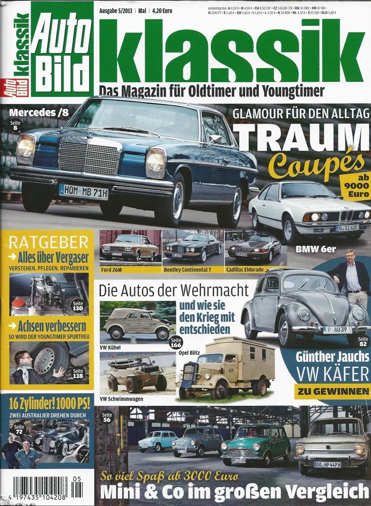 AutoBild Klassik 05 2013