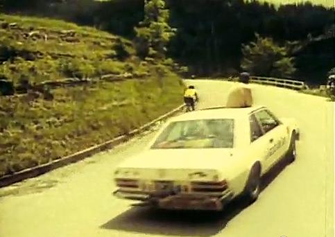 Eddy Merckx met Fiat 130