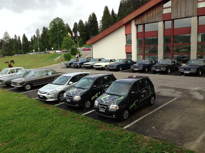 Fiat 130 meeting 2013