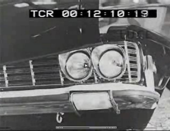 Archivio Cinematografico Luce con Fiat 130