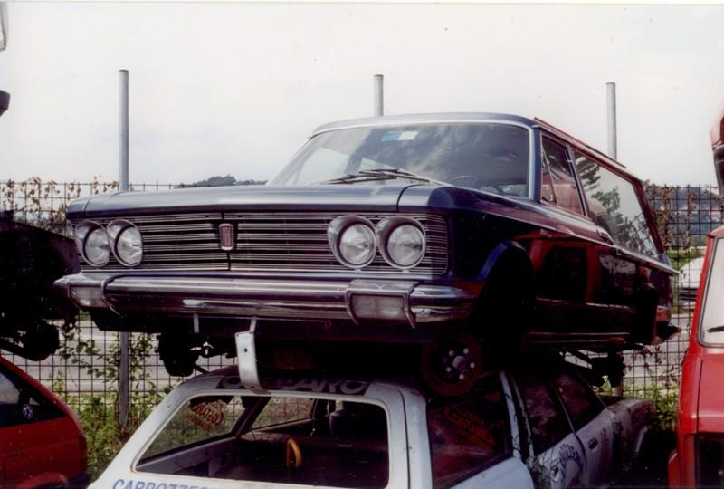 Fiat 130 op de sloop
