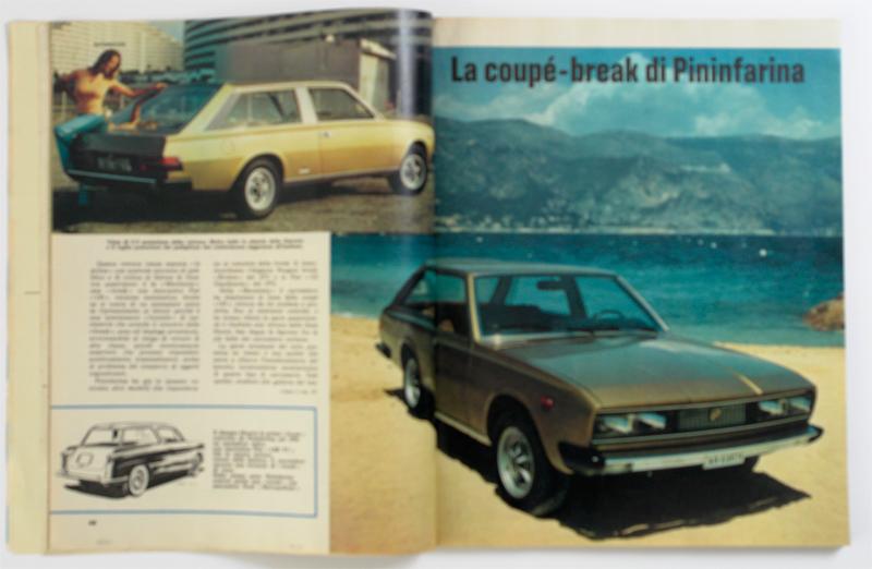 La Coupe-break di Pininfarina.