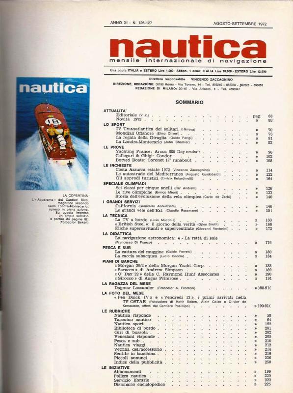 Nautica 1972 Fiat 130