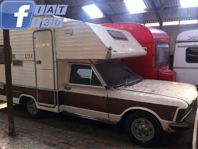 Fiat 130 op Facebook