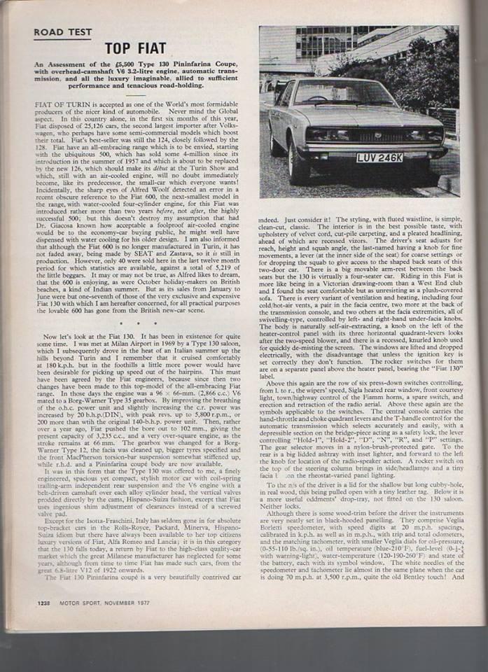 MotorSports nov. 1972