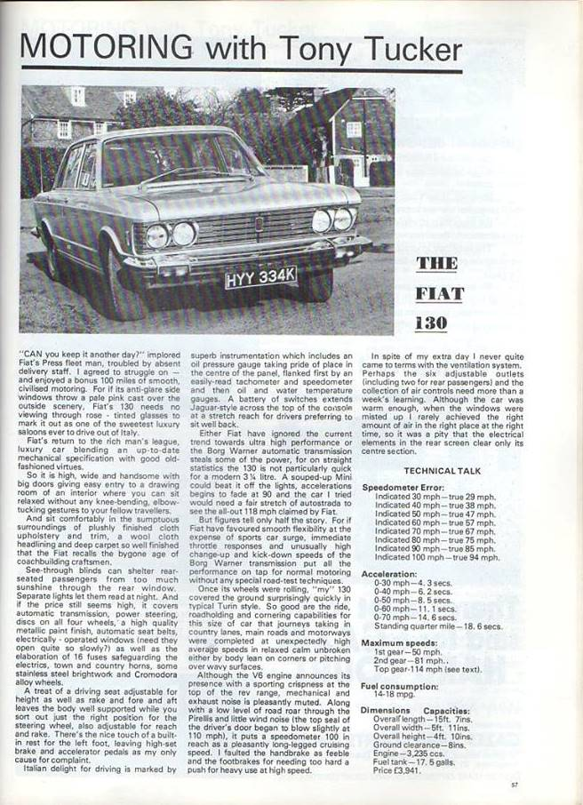 KentLife with Fiat 130