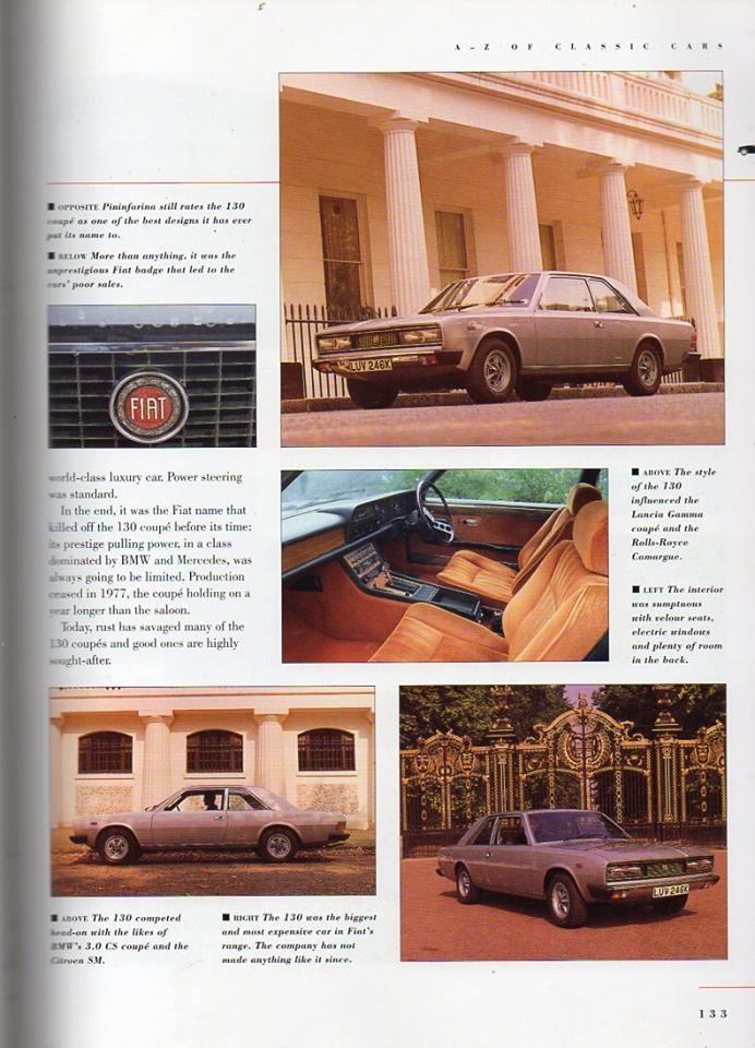Classic Cars & Fiat 130