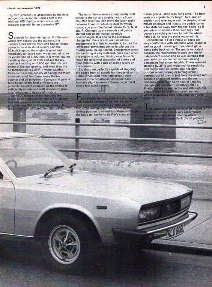 ClassicCar 1973 with Fiat 130