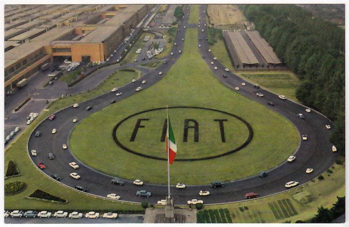 Fiat 130 Centro Storico Fiat
