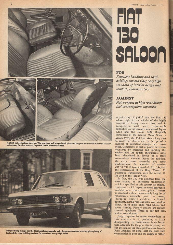 Motor (1972) Fiat 130