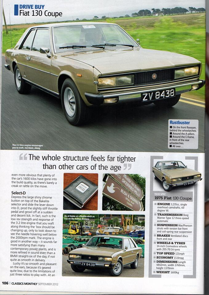 Classis Fiat 130 Coupe