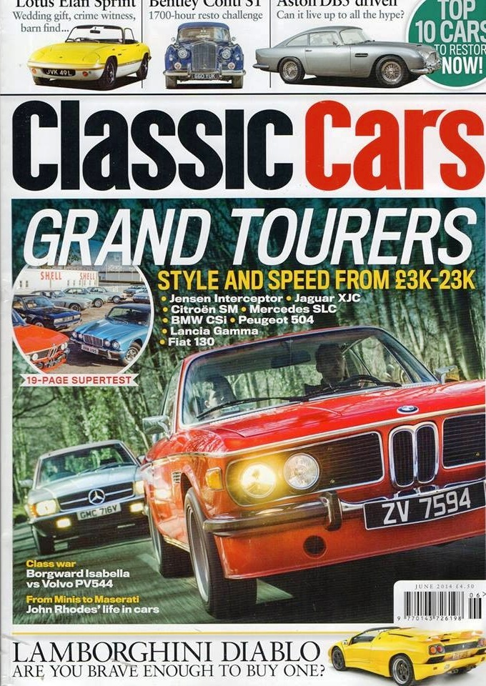 Fiat 130; 8 Grandest Tourers
