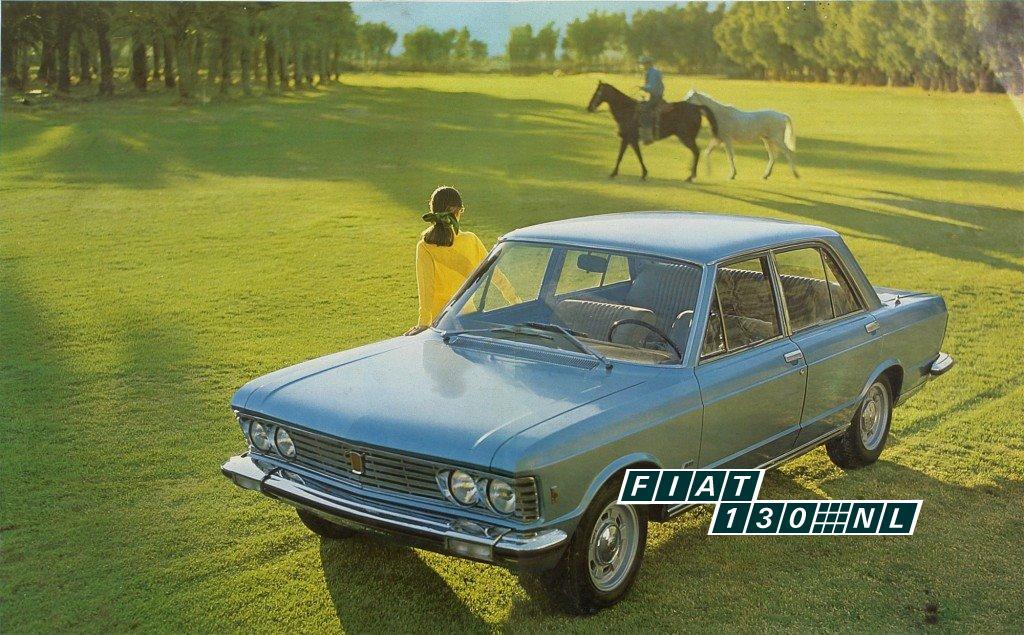 persfoto Fiat 130