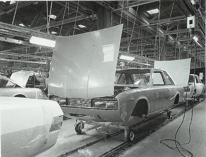 productie Fiat 130
