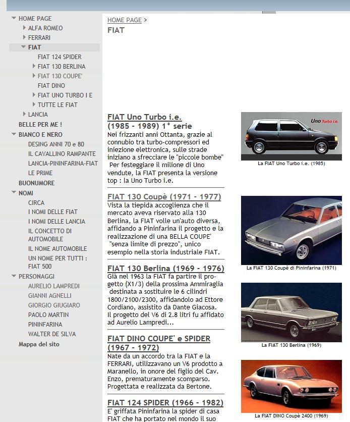 Belle Auto Italiane