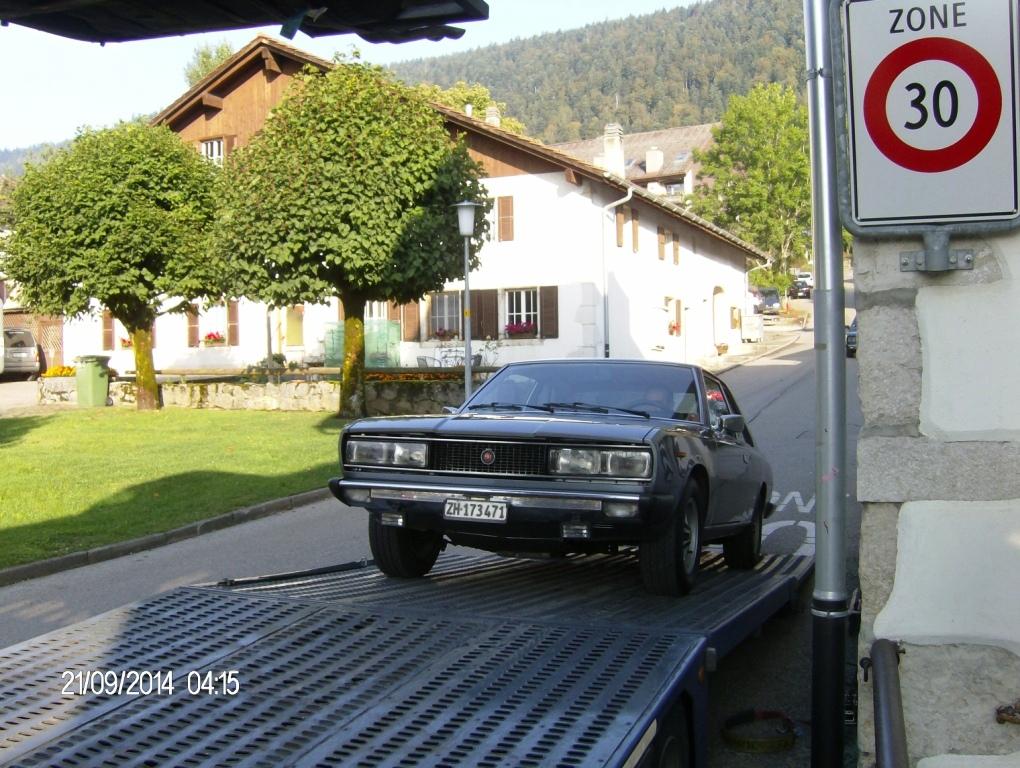 Fiat 130 transport