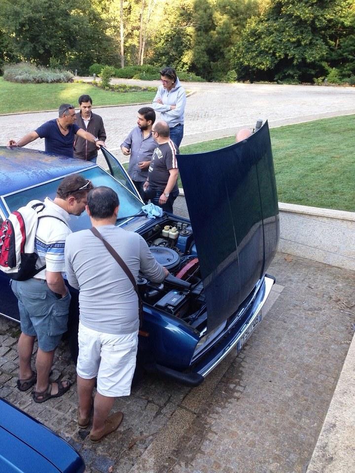 Fiat 130 meeting Portugal