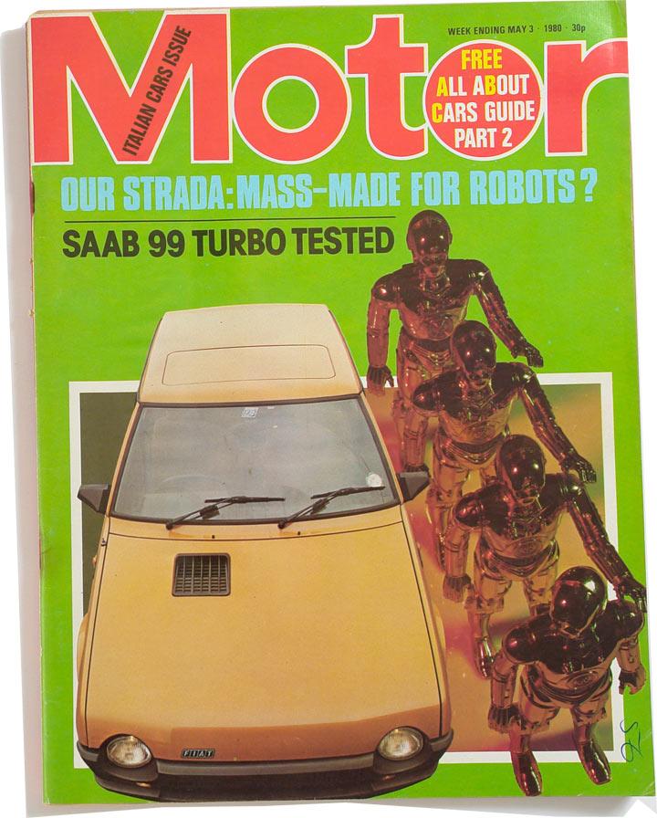 Fiat 130 Motor 1980