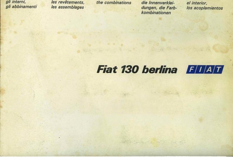 kleurenschema Fiat 130
