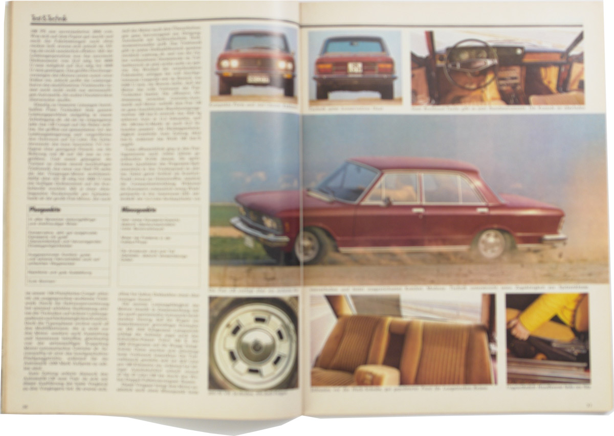 auto zeitung 1972 de nederlandse fiat 130 website. Black Bedroom Furniture Sets. Home Design Ideas