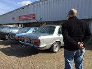 Fiat 130 bij Guy Moerenhout